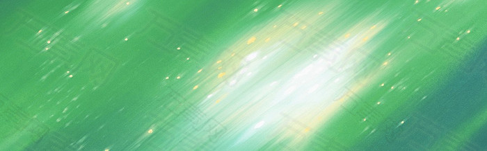 自然绿色banner背景