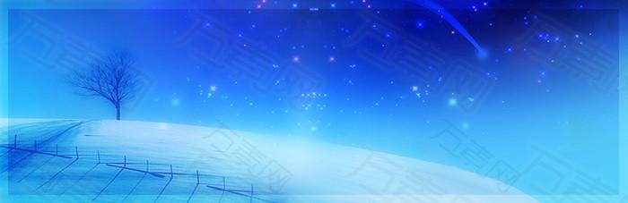 星空许愿背景banner
