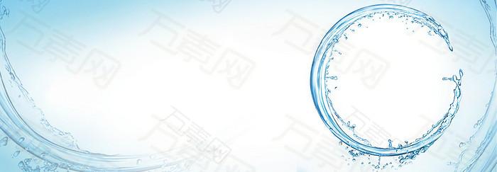 水之源banner背景图