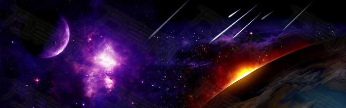 宇宙星空背景图