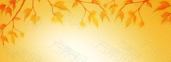 秋天背景banner