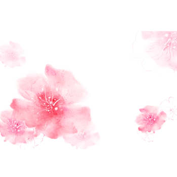 淡粉色花朵矢量背景图