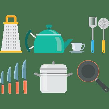 烹饪食物厨师烹饪工具图标