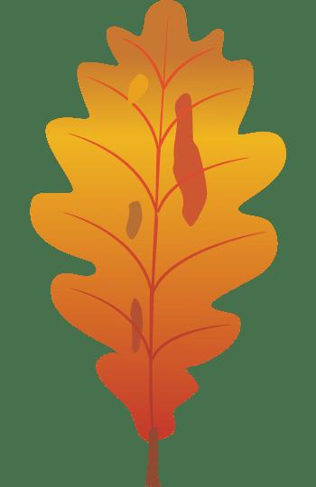 秋天的叶子矢量免抠效果素材