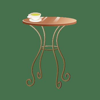 简易复古桌子图形