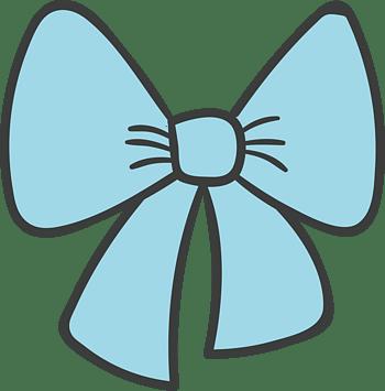 蝴蝶结装饰图片