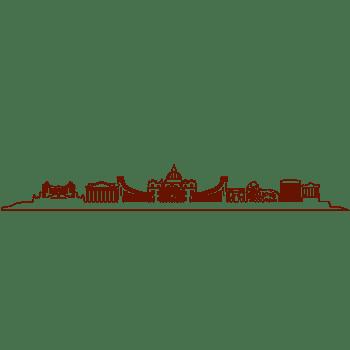 欧式城堡建筑城市风景banner楼群