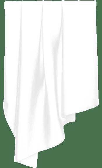 白色透明窗帘
