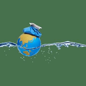 地球和水纹