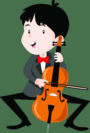 奏乐器的儿童孩子