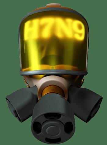 疫情防毒面具