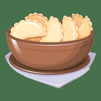 卡通饺子免费下载 水饺
