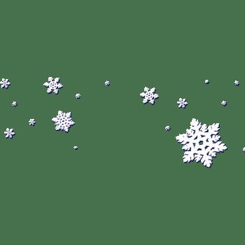 漂浮的雪花