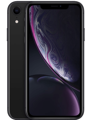 2018年发布的新款iPhone手机iPhone XR黑色版