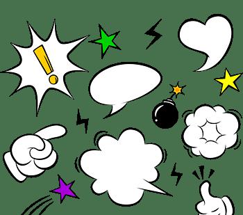 漫画爆炸云对话框