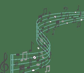 小清新风音乐符号