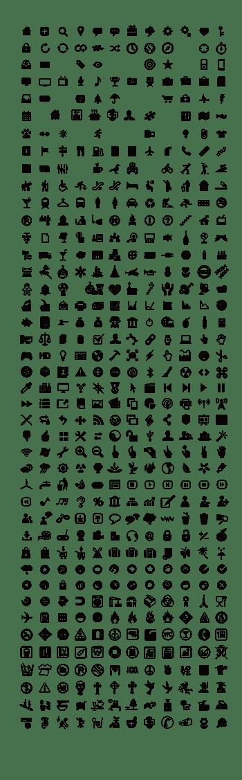 600个超实用图标