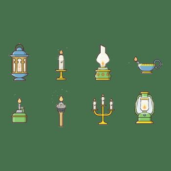 蜡烛烛台古典高贵