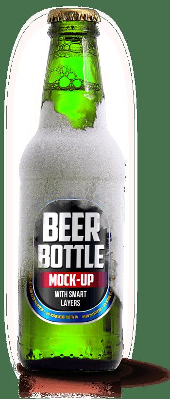 啤酒瓶绿色