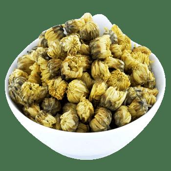 碗装杭白菊花茶图片素材