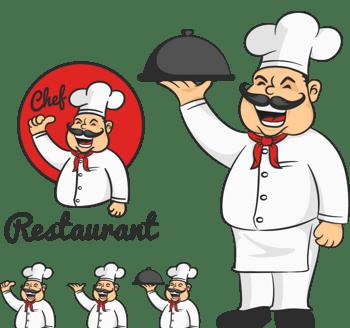 酒店饭店厨师形象
