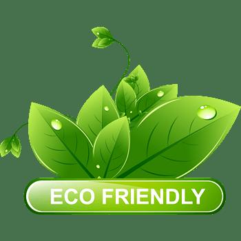 绿色叶子环保标签