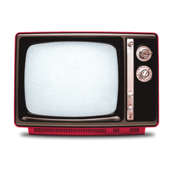 老式黑白电视