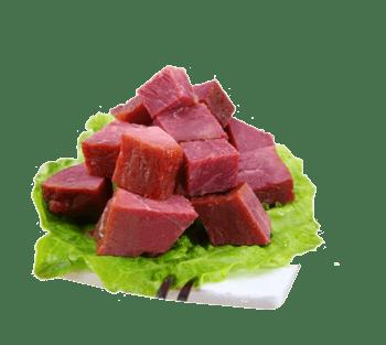 牛肉粒食材