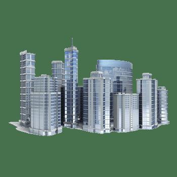 办公区高层建筑