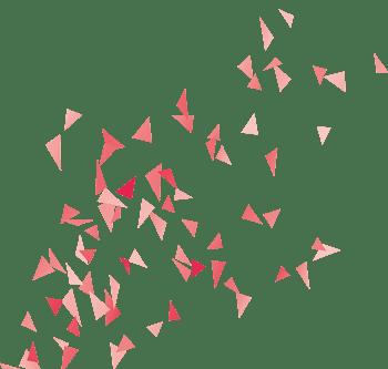 红色碎片背景海报促销素材