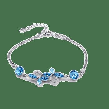 925银时尚手链水晶手饰品