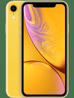 iPhone XR黄色版苹果手机