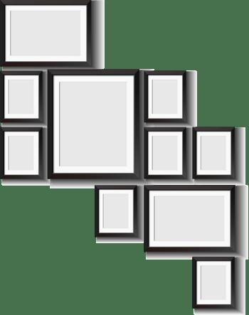 画框相框设计矢量素材