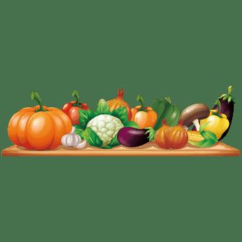 矢量蔬菜瓜果