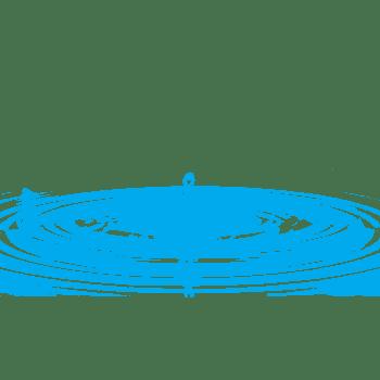 蓝色水波纹涟漪素材