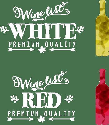 矢量彩色啤酒瓶