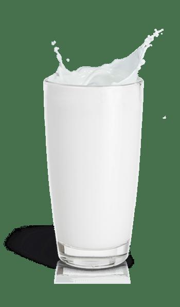 杯装的牛奶