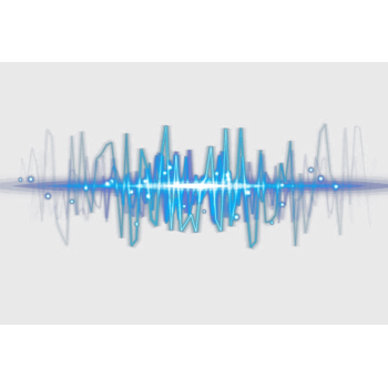 声音频率波动光线背景