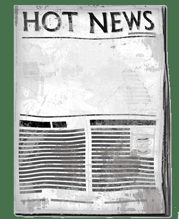 热点新闻的简易报纸