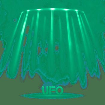 蓝绿色光效