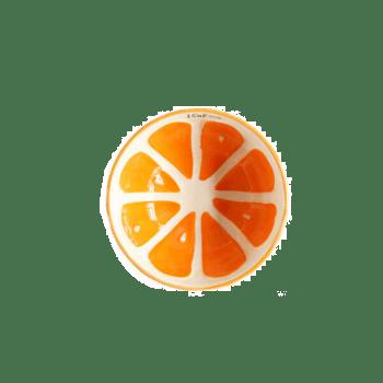 川岛屋陶瓷水果西柚碗