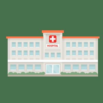 卡通手绘清新风医院