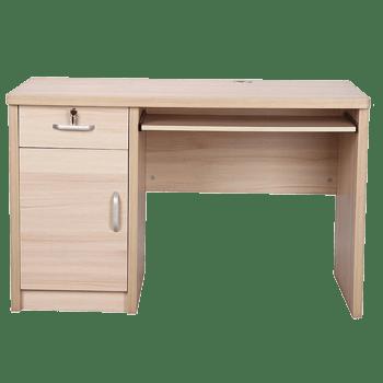 木纹电脑桌