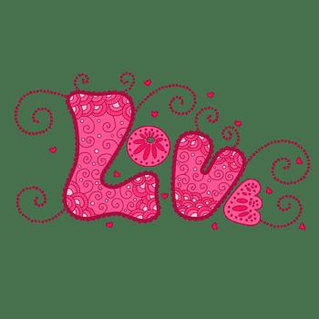 LOVE字体设计