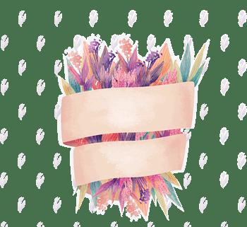 手绘母亲节花束