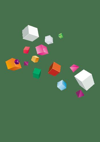 飘浮的正方体