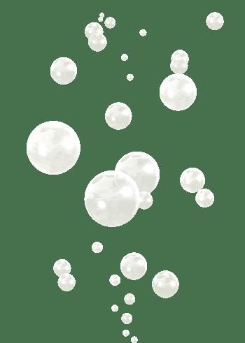 漂浮白色气泡