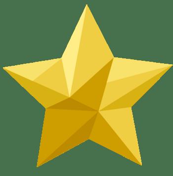 五角星切割形状