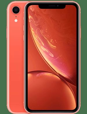 2018年发布的iPhone手机iPhone XR橙色版