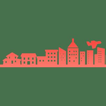 城市建筑剪影